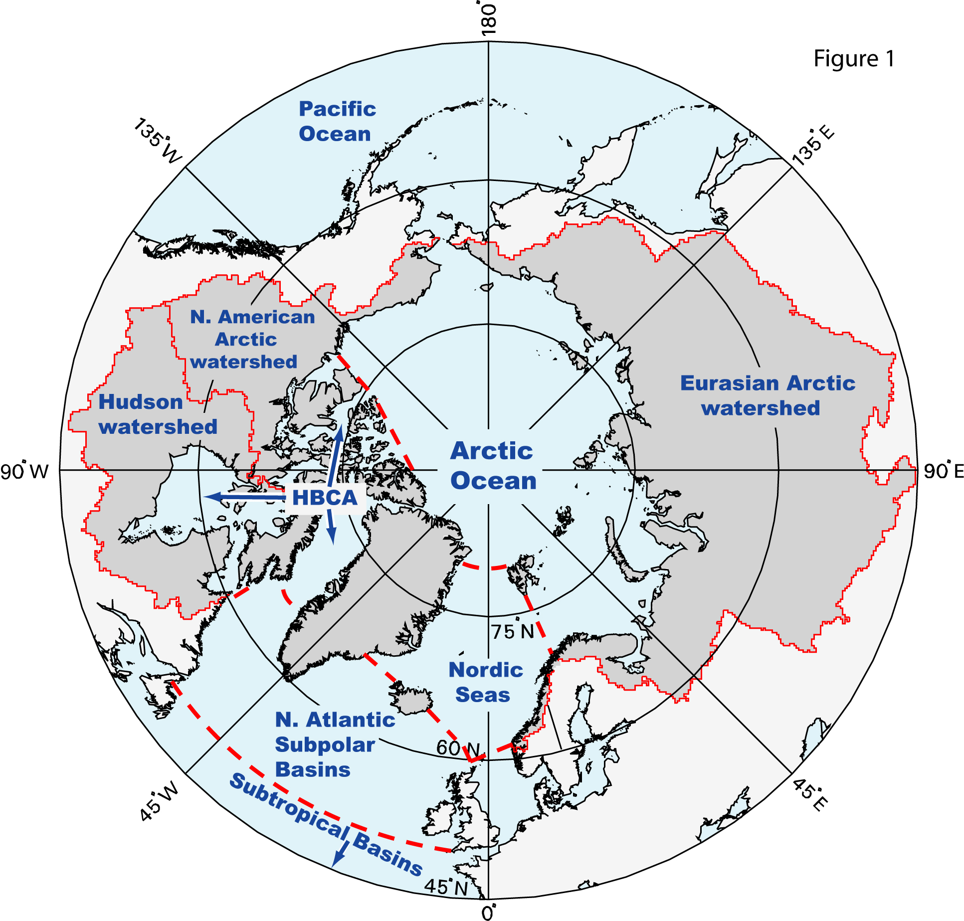 an analysis of the polar oceans and the polar regions The polar regions of earth, also known as earth's frigid zones, are the regions of earth surrounding its geographical poles (the north and south poles)these regions are dominated by earth's.